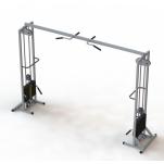 Тренажер для кинезитерапии МТБ-2 стеки 2х40 кг, рама 60х60 мм
