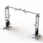 Профессиональный тренажер МТБ-2 стеки 2*105 кг.