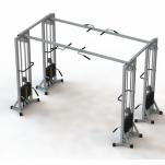 Профессиональный тренажер МТБ-4 (груза 105 кг)